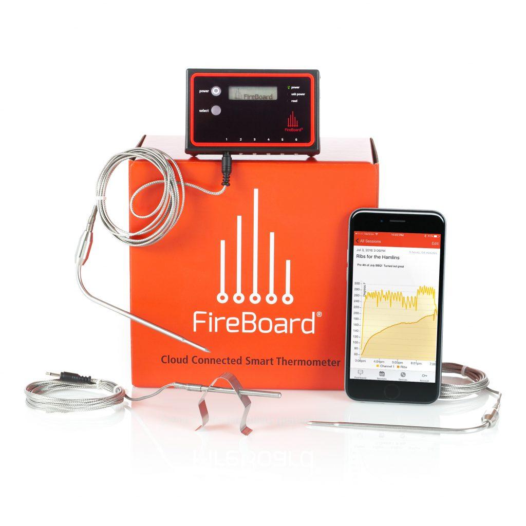 Fireboard thermometer fireboard labs - Thermometre connecte wifi ...